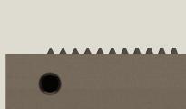teeth-on-input-end