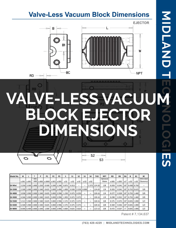 image of valve-less vacuum block ejector dimensions pdf