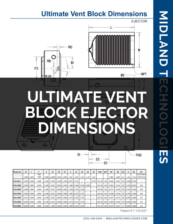 image of ultimate vent block ejector dimensions pdf