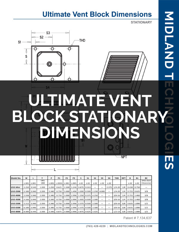 image of ultimate vent block stationary dimensions pdf