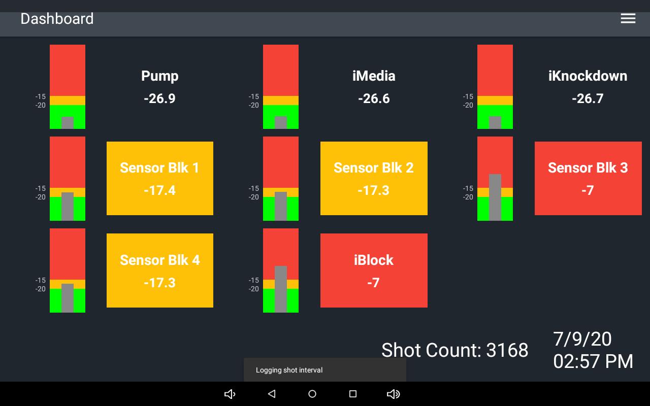 Vac-Alert Monitor Screenshot