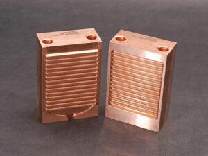 Custom Copper Vent Block