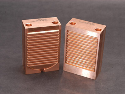Custom Copper Vent Block